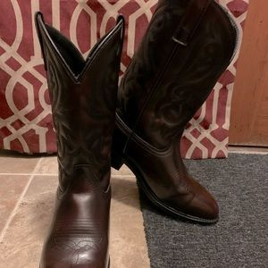 Men's Cody James Boots, Black Cherry (10EE)
